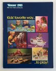 Star Wars 1983 Kenner Pre Toy Fair Catalogue